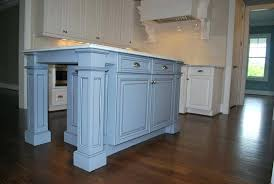 kitchen island posts kitchen island with legs custom cut legs to fit your kitchen island