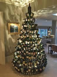 the 25 best wine bottle christmas tree ideas on pinterest