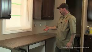 Replace Kitchen Countertop Kitchen How To Install A Granite Kitchen Countertop Tos Diy