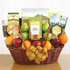 Vegetarian Gift Basket Fresh And Healthy Gift Basket Presents We U0027ll See Pinterest