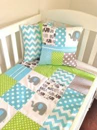 Design Crib Bedding Patchwork Crib Bedding Foter