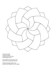 simple zentangle template zen templates pinterest template