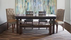 farmhouse table with bench and chairs farmhouse table james james furniture springdale arkansas