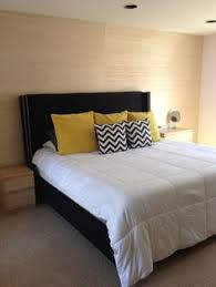 black white and yellow bedroom teal brown gold and cream master bedroom update lived in