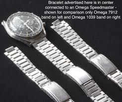 omega link bracelet images Fs flat link 1960s bracelet to vintage or new omega speedmaster jpg