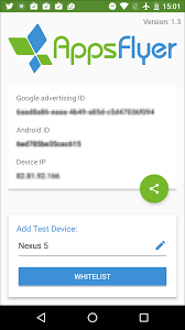 device id android whitelisting a test device help center
