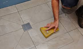 How To Lay Floor Tile In A Bathroom - how to tile a shower base video bunnings warehouse