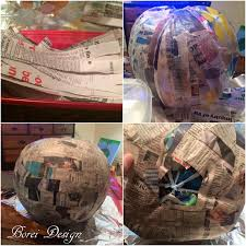 diy craft tutorial how to make paper mache jack o u0027 lanterns