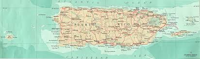 Map Of The Virgin Islands Map Of Puerto Rico Virgin Islands