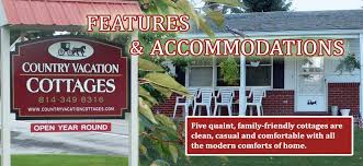 Cottages In Pennsylvania by Country Vacation Cottages Lodging In Central Pennsylvania