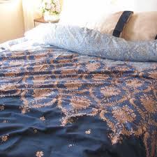 Damask Duvet Cover King Shop Blue Damask Bedding On Wanelo