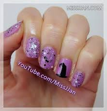 missjjan u0027s beauty blog witch hat nail art tutorial halloween