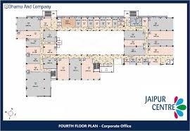 Commercial Office Floor Plans Jaipur Centre Commercial Property Tonk Road Dhamu U0026 Co