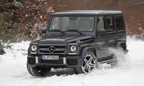 used mercedes g wagon winter sports with the g 63 amg mercedes benz