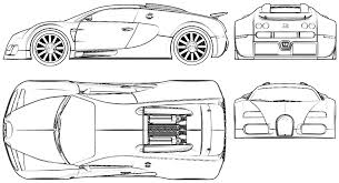 lamborghini aventador drawing outline 2005 bugatti veyron eb 16 4 coupe blueprints free outlines