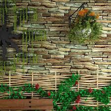 online get cheap faux brick stone wallpaper aliexpress com