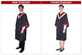 graduation gown rental ite college central