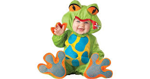 Toad Halloween Costume Lil U0027 Froggy Infant Toddler Costume Buycostumes