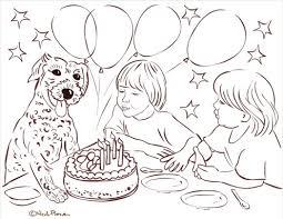 multi ani buon compleanno joyeux anniversaire coloring page 545215