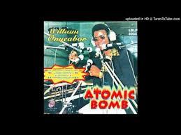 William Onyeabor Love Is Blind Atomic Bomb Cover Chip Vs William Onyeabor Shazam