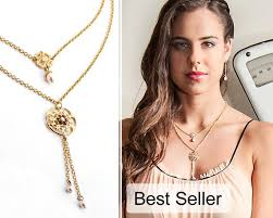 necklace double layer images Gold layered necklace layered necklace gold double strand etsy jpg