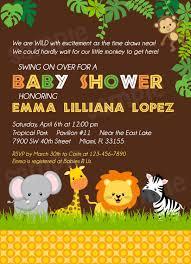 safari baby shower invitation templates free wedding invitation
