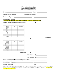 receipt templates free itemized receipt template 2 free templates in pdf word excel sample itemized receipt form