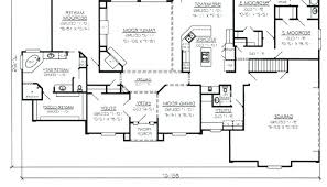 large ranch house plans floor plans with large kitchens bostonbrass info