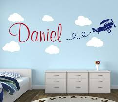 Letter Wall Decals For Nursery 8 Best Airplanes Wall Decals Images On Pinterest Child Room