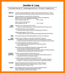 Intern Resume Example by 8 Intern Resume Example Authorize Letter