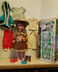 vintage de luxe vintage deluxe reading little miss fashion doll cowgirl western