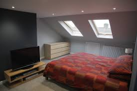 Loft Bedroom Ideas by Bedroom Painting Angled Walls And Ceiling Painting Attic Room