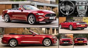 ford mustang convertible eu 2018 pictures information u0026 specs