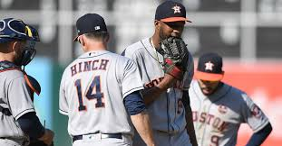 astros issue 13 walks in second straight loss to last place