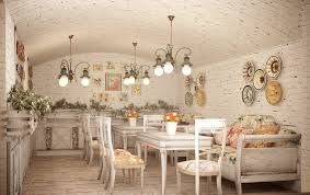Shabby Chic Kitchen Lighting by Las 5 Claves Del Estilo Shabby Chic Shabby Cafes And Shabby