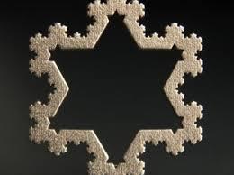 koch snowflake ornament 4th iteration dwbxl929u by japhyr
