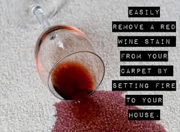 Red Wine Meme - how to remove red wine from the carpet b for bel