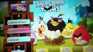 angry birds toons season 1 volume 1 dvd main menu youtube