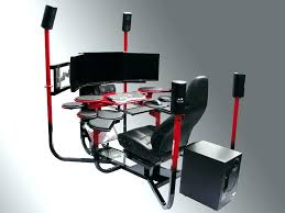 Gaming Desk Plans Computer Desk Gaming Types Of Gaming Desks Custom Gaming Computer