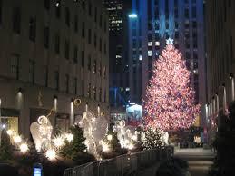 the rockefeller center christmas tree is now lighted randolph