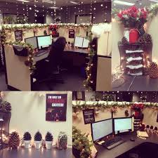 Christmas Decoration For An Office by Best 25 Office Christmas Decorations Ideas On Pinterest