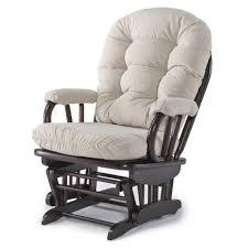 Rocking Chair For Breastfeeding Best Chairs Geneva Wood Glider Caviar Velvet Espresso Babies