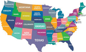 map of us states based on population what are the smallest states in the u s