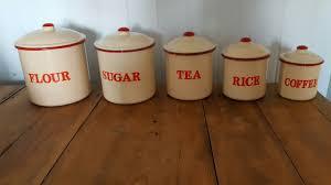 100 enamel kitchen canisters finel vegeta enamel jar with