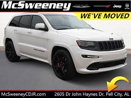 grey jeep grand cherokee 2016 pre owned 2016 jeep grand cherokee srt sport utility in pell city