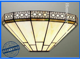 mission tiffany ceiling light mission tiffany style handcrafted wall light tiffany style