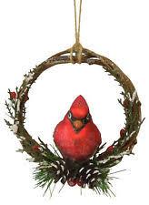 cardinal ornament ebay