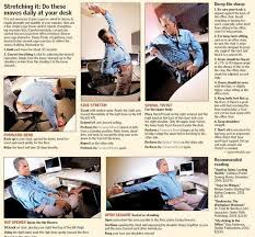 Office Workouts At Your Desk by Office Ergonomics Get Out Of Your Chair U2013 The Denver Post