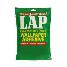 lap cold water starch wallpaper adhesive