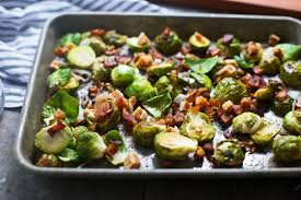easy brussels sprouts with bacon recipe popsugar food